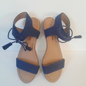 Lucky Brand Navy Blue Sandals